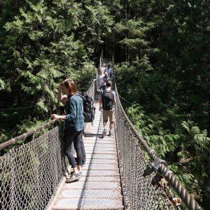 Non ce pont nest pas le Capilano Suspension Bridge !hellip