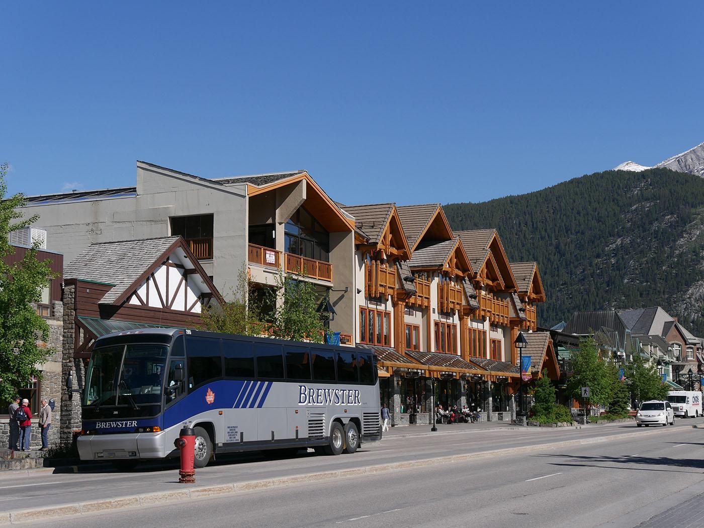 voyage dans l'Ouest Canadien : Banff