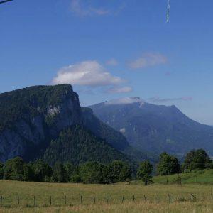 Souvenir dun sjour en Savoie ! Le premier enceinte soushellip