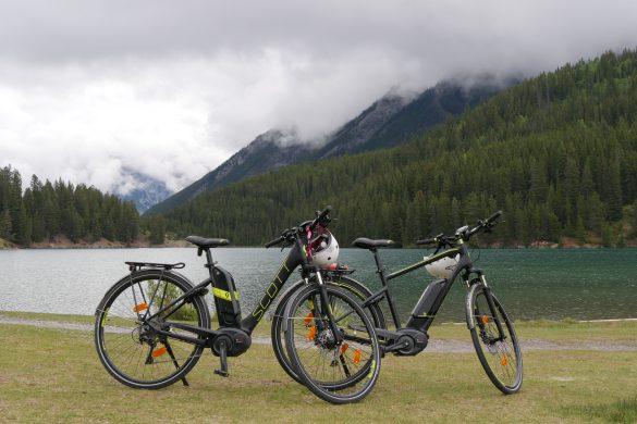 Lacs canadiens à vélo
