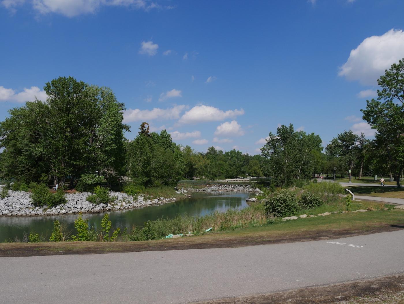 Rivière Bow Calgary