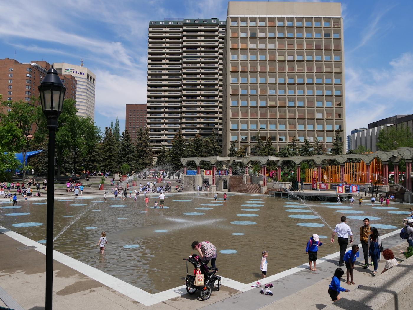 Olympic Plaza Calgary