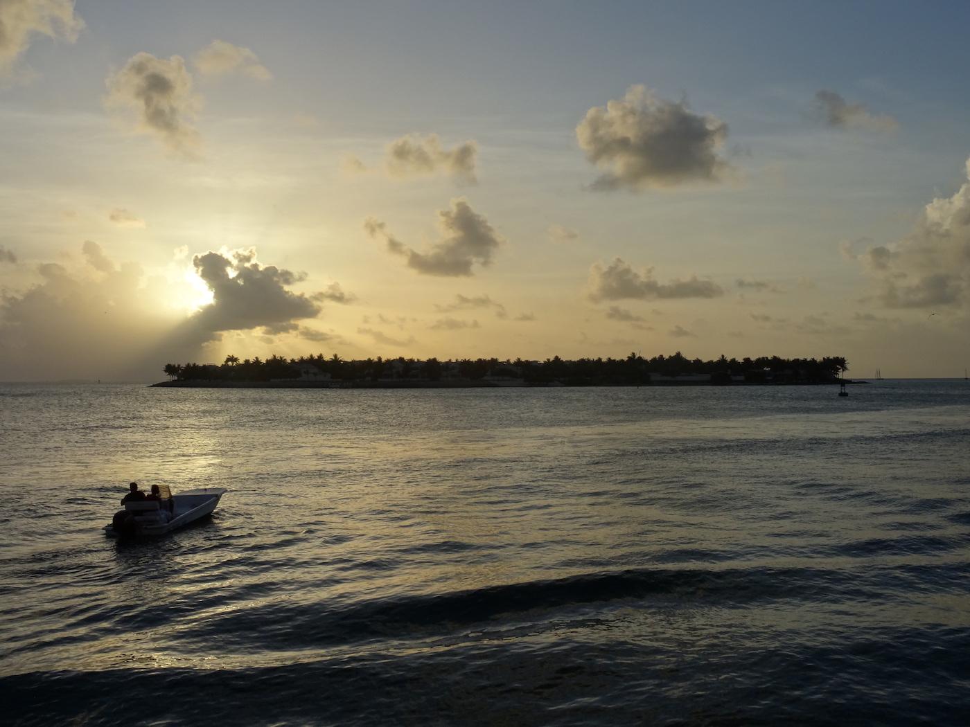 Key West coucher de soleil