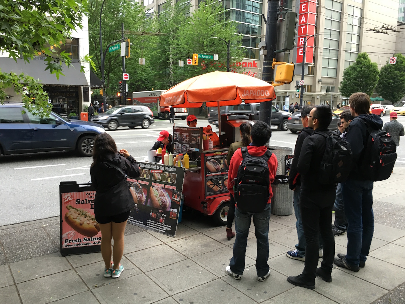 Japadog Foodtruck Vancouver