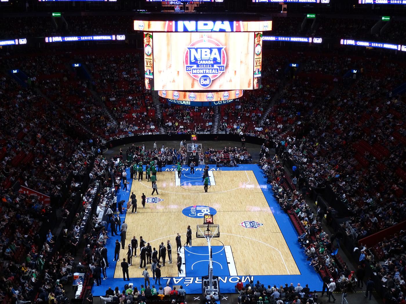 match NBA montreal