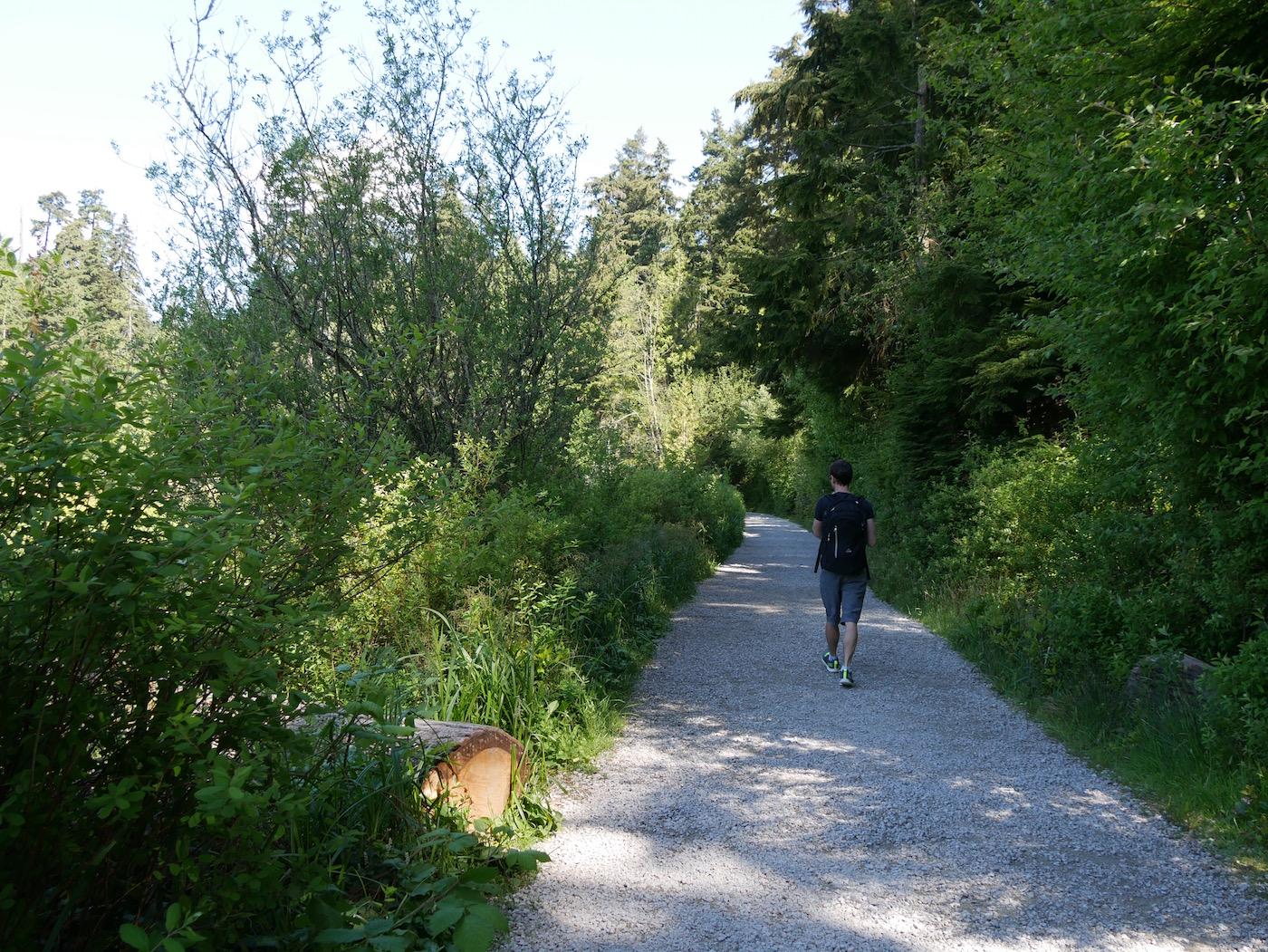 balade au vert à Vancouver