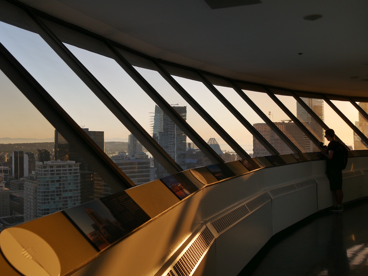 Interieur Tour Lookout Vancouver