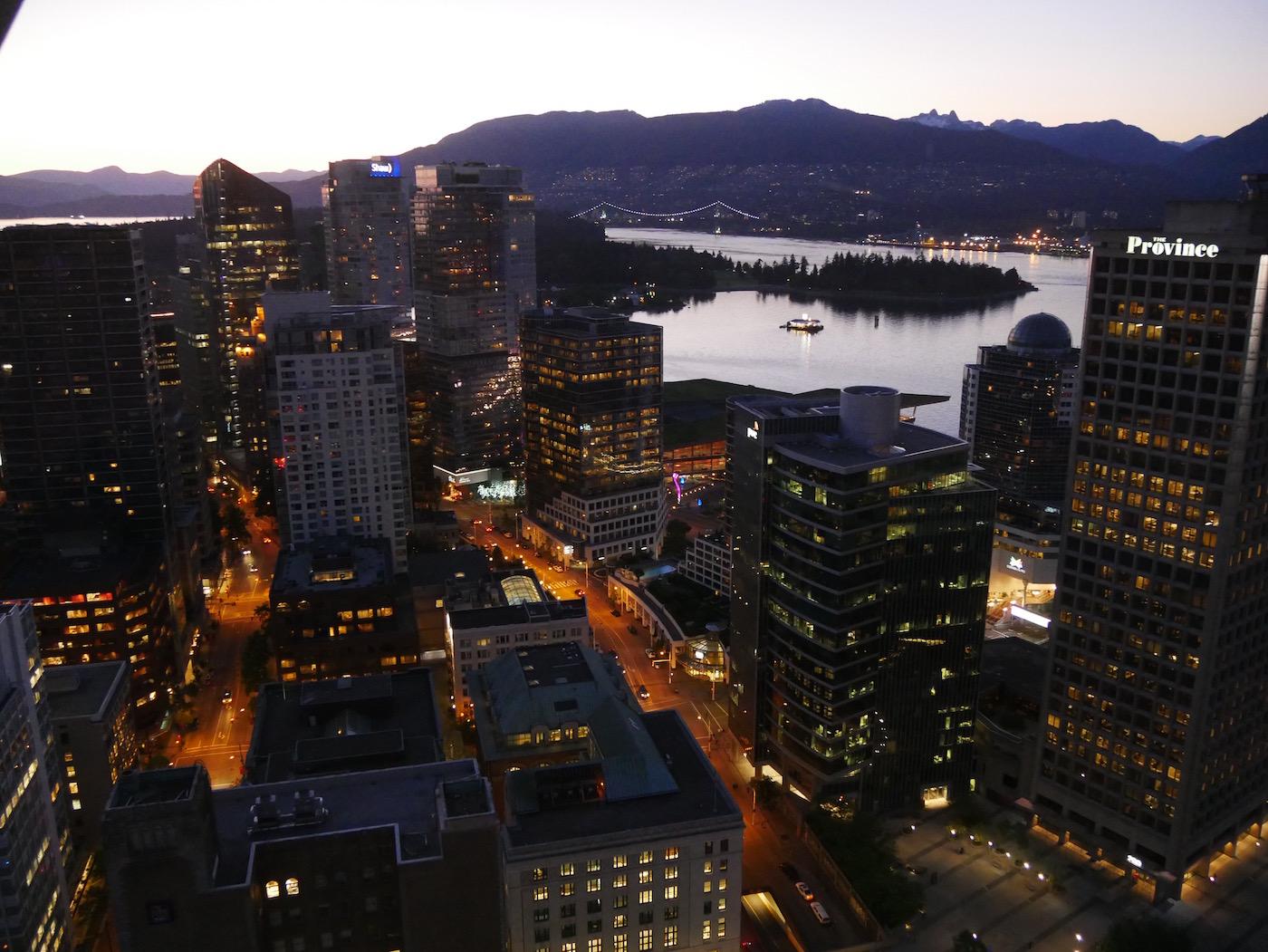 Stanley Park de nuit Tour Lookout Vancouver