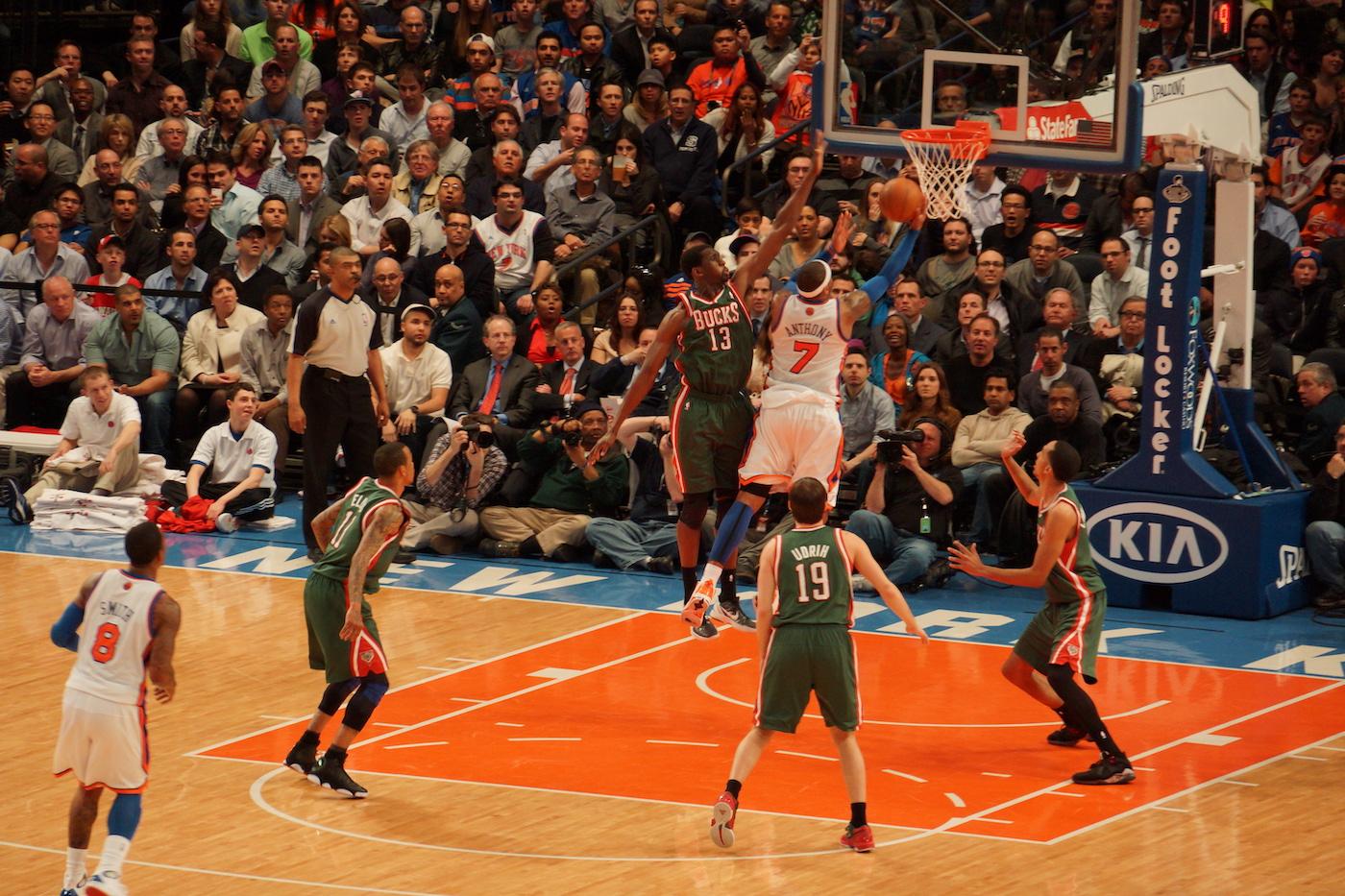 billets NBA New York au Madison Square Garden