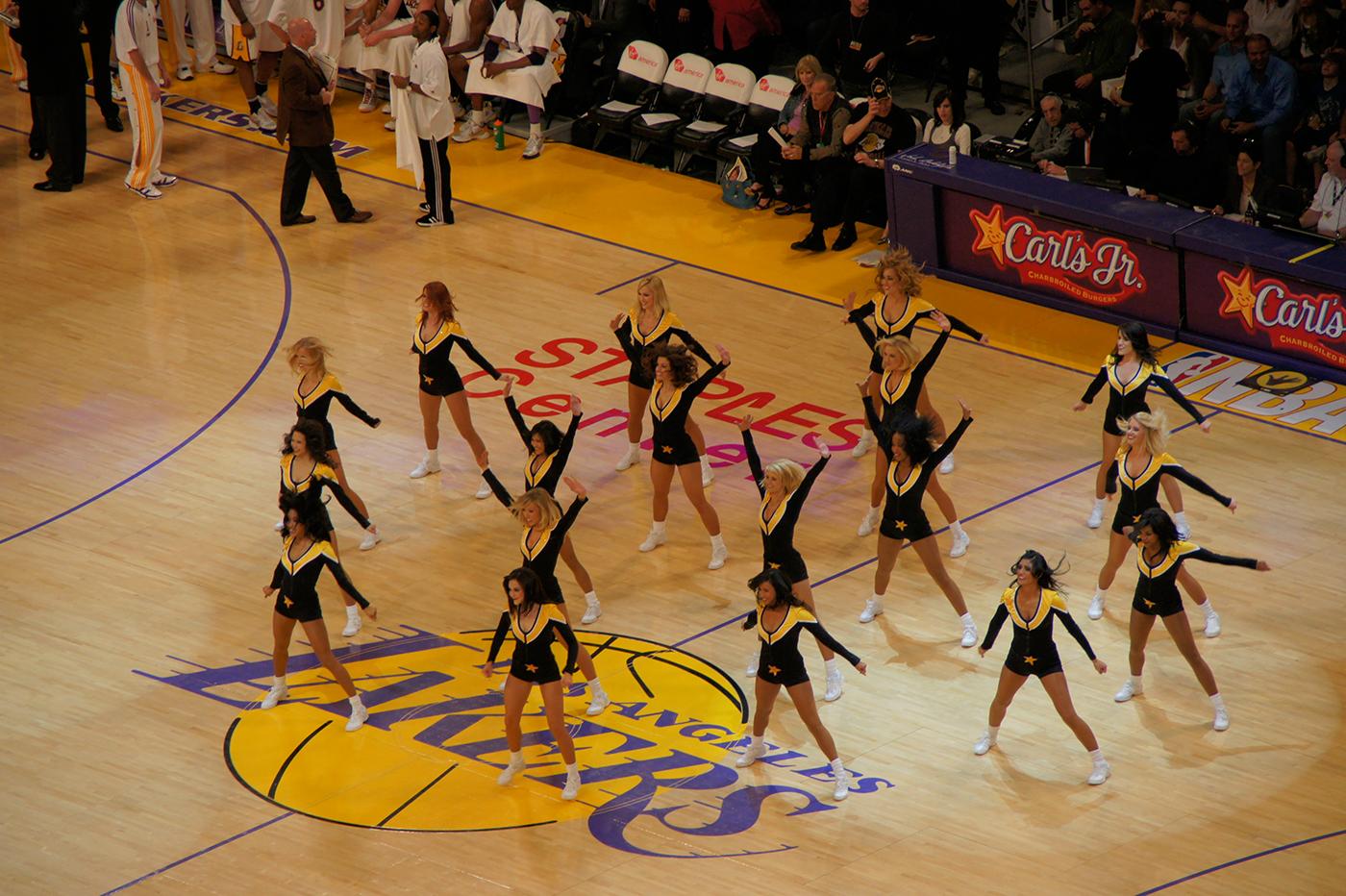 cheerleaders nba