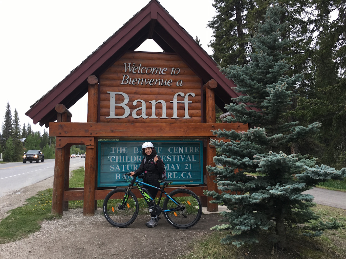 vélo Banff
