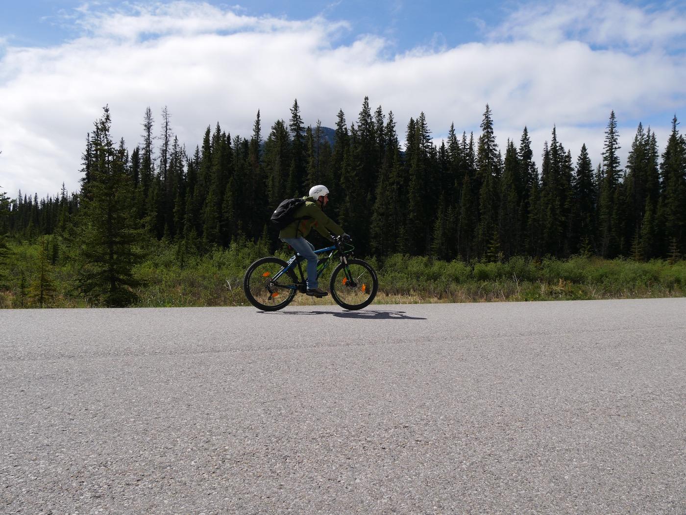 Parc Banff en VTT