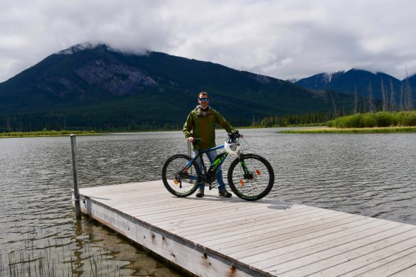 Rocheuses Canadiennes à vélo
