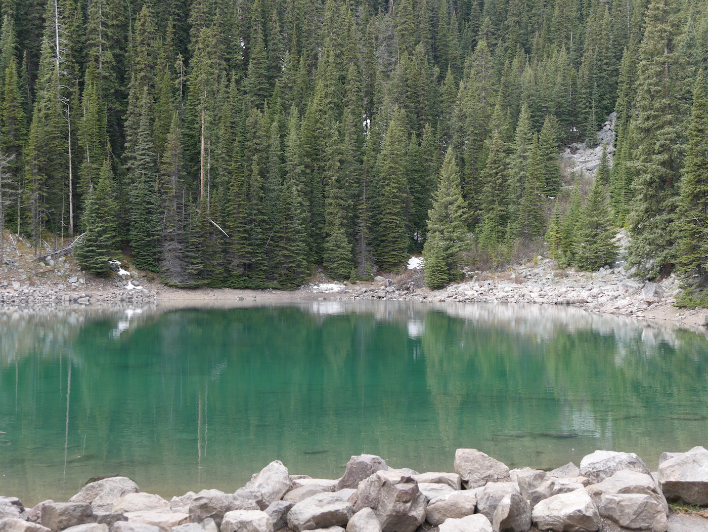 Mirror Lake au printemps