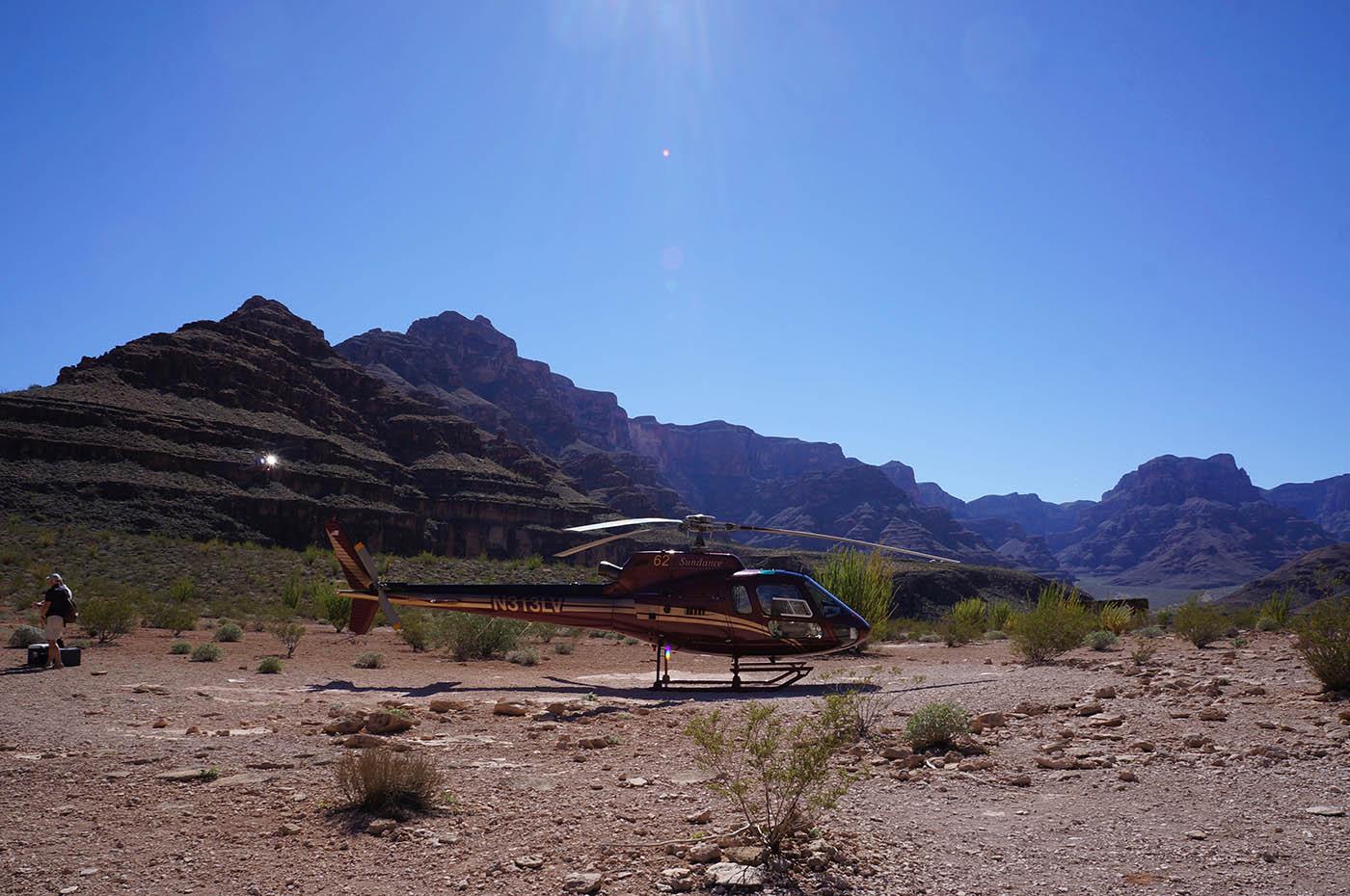 survol grand canyon