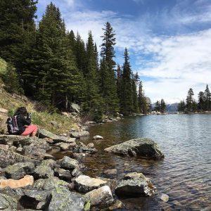 Souvenir du magnifique Lac Agns dans le Parc National dehellip
