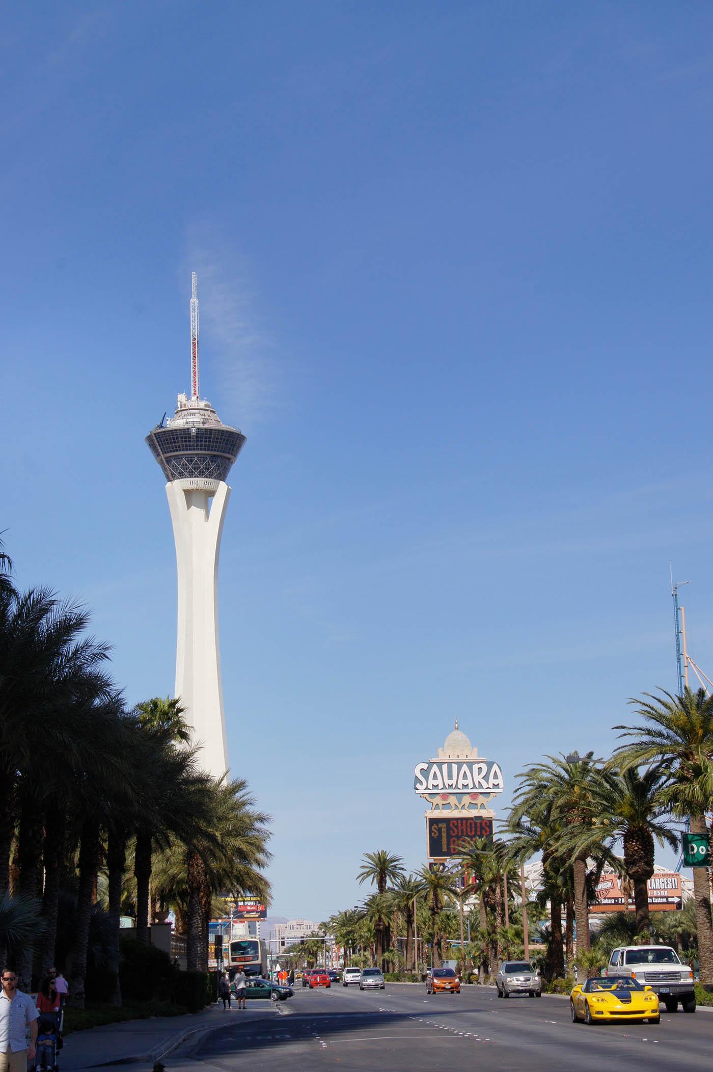 Hôtel pas cher à Las Vegas : le Stratosphere situé sur le Strip
