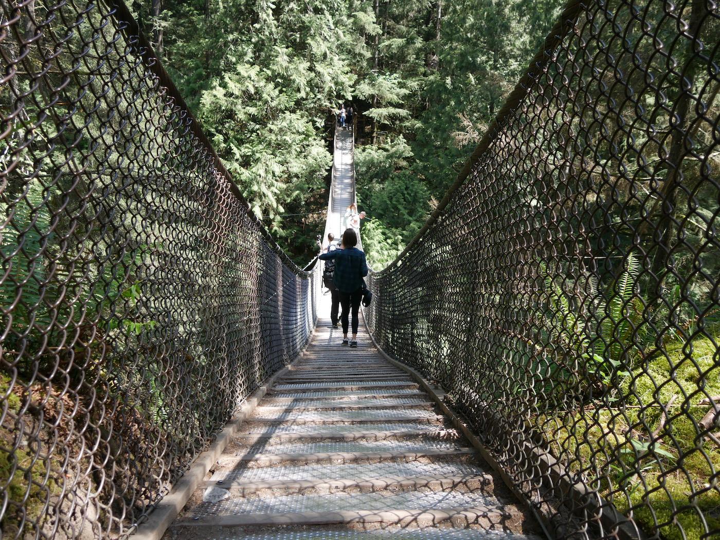Pont suspendu Vancouver