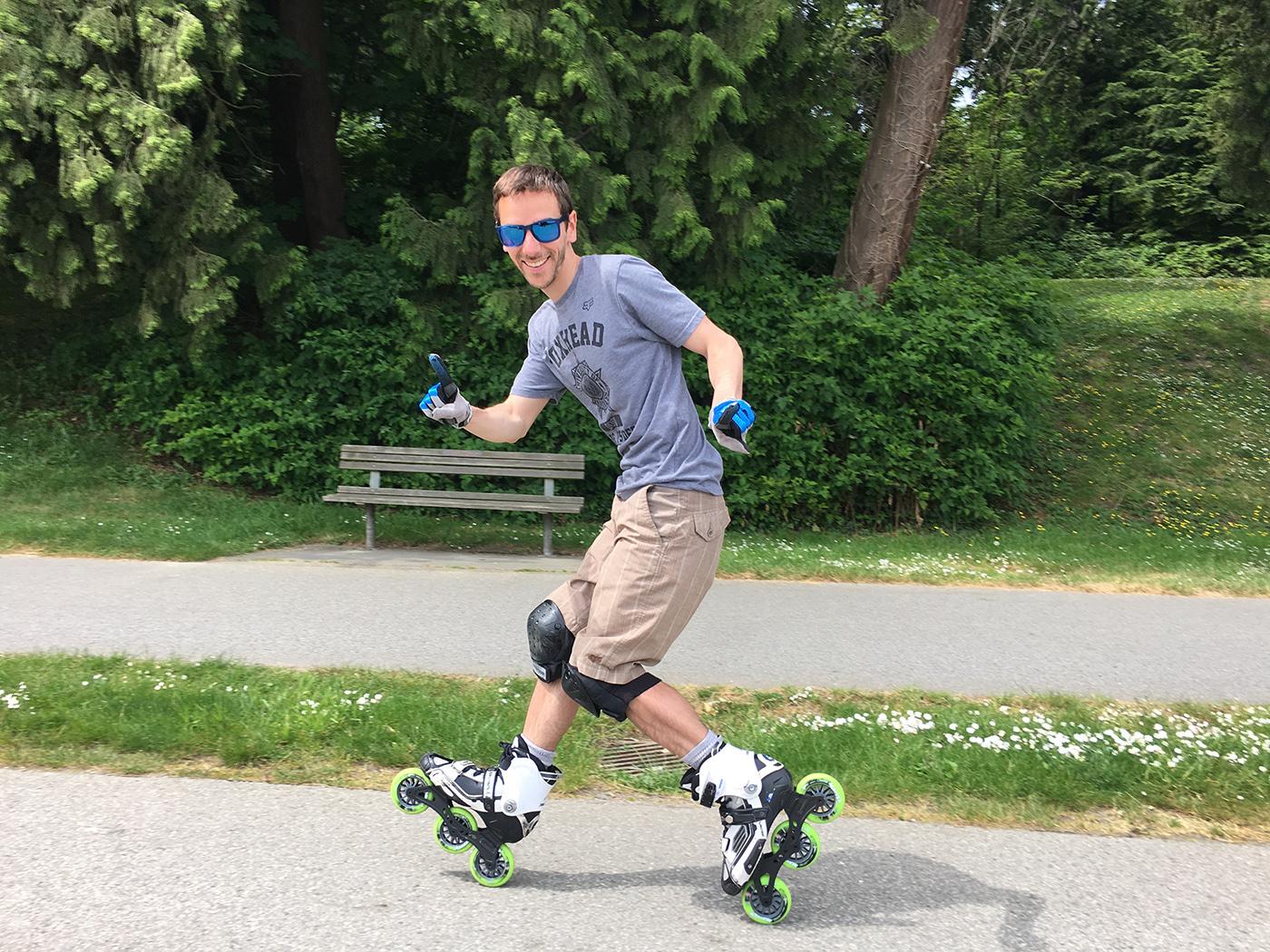 Visiter Vancouver en Roller