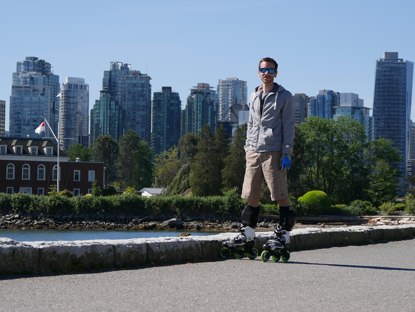 Roller Seawall Vancouver