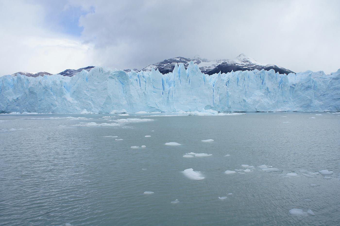 Visite en bateau du glacier Perito Moreno