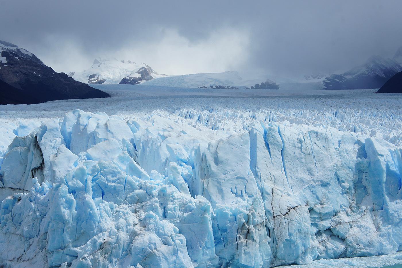 Les glaces millénaires du Perito Moreno