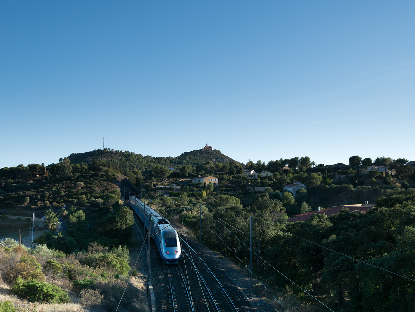 Visiter l'Esterel en train