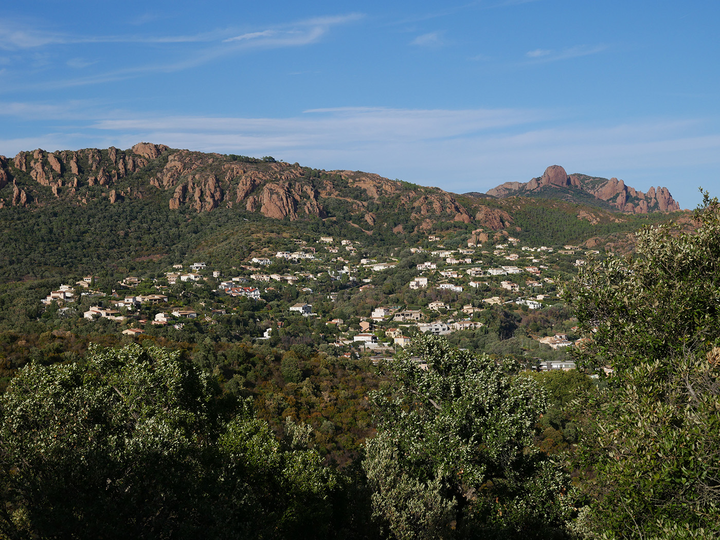 Visiter l'Esterel depuis Agay