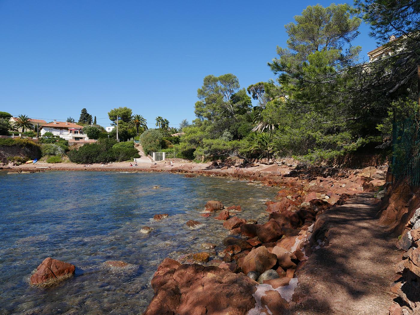 Visiter l'Esterel sentier du littoral