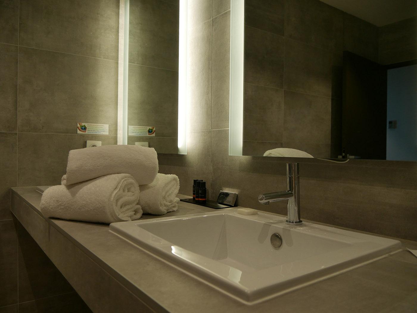 Central Park & Spa salle de bain