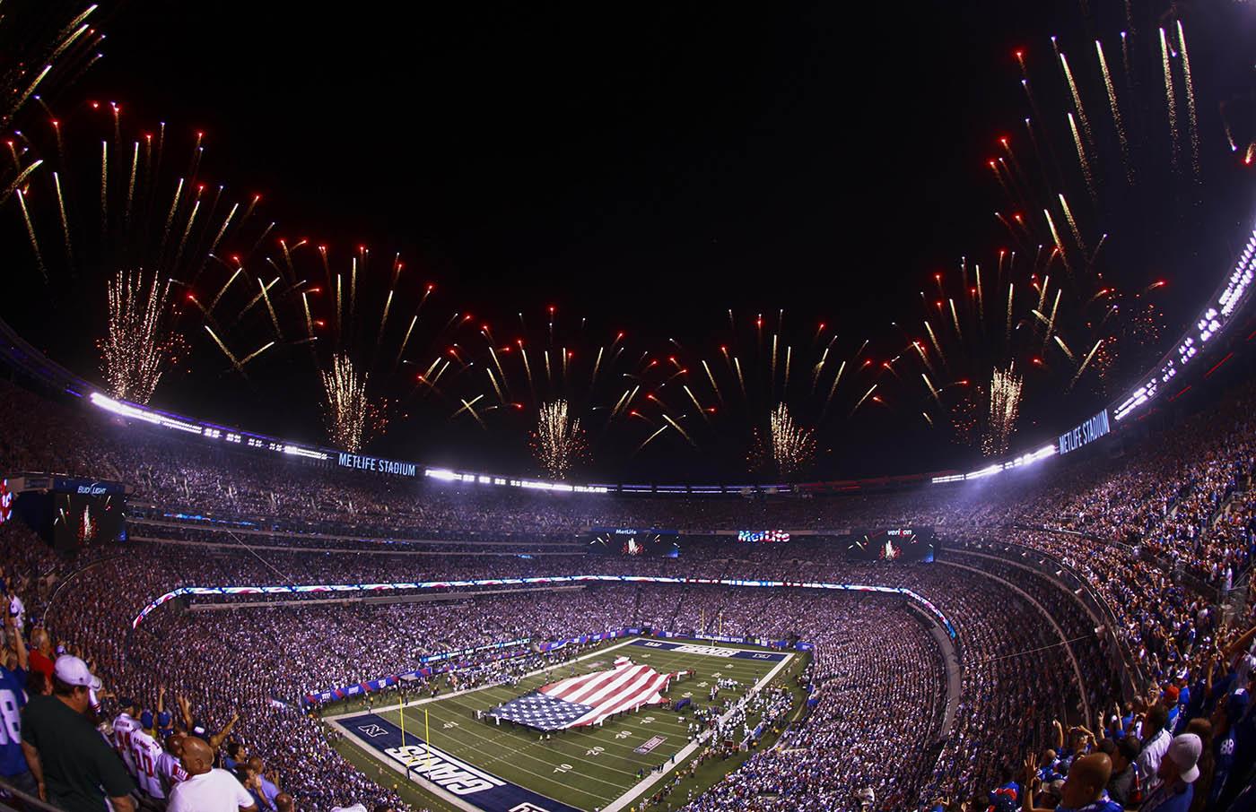 voir un match de NFL New York