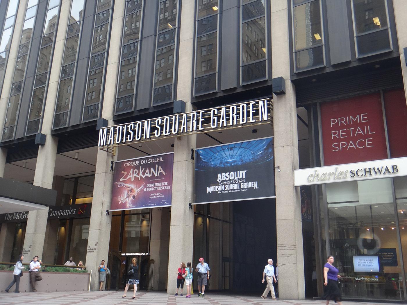 préparer votre voyage à New York et réservez en avance vos places au Madison Square Garden