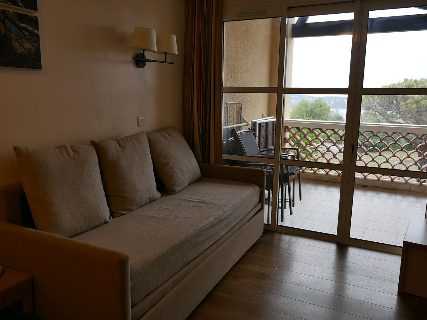 salon appartement Pierre&Vacances Cap Esterel