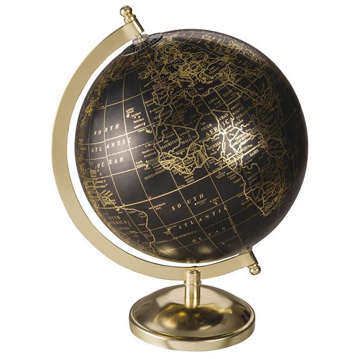 idée objets déco autour du voyage : globe terrestre maisons du monde