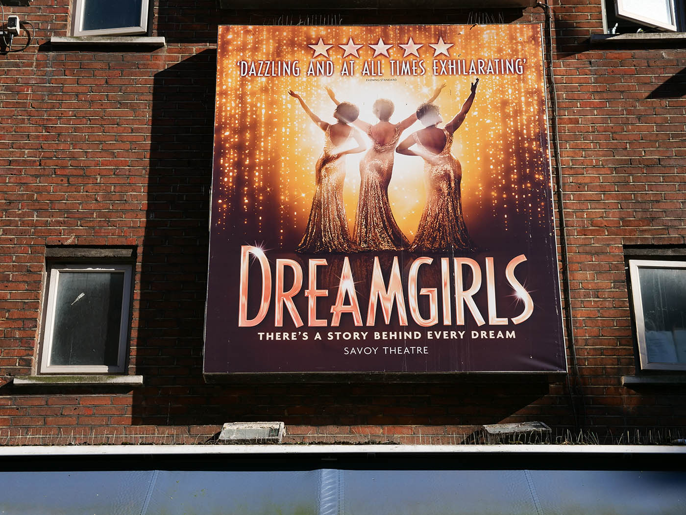 comédie musicale Londres Dreamgirls