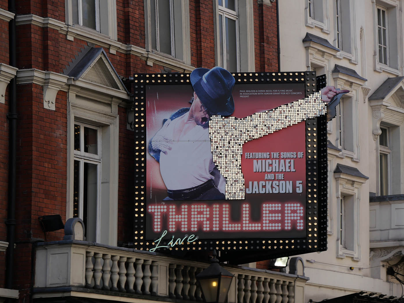 comedie musicale Londres Thriller Live