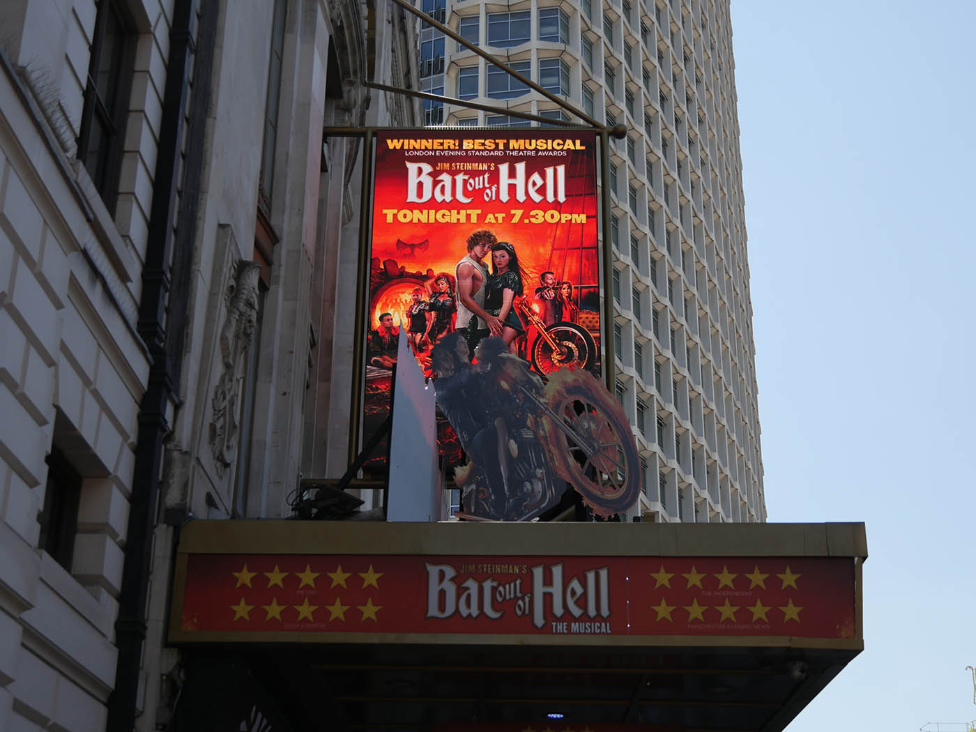 comedie musicale bat out of hell londres