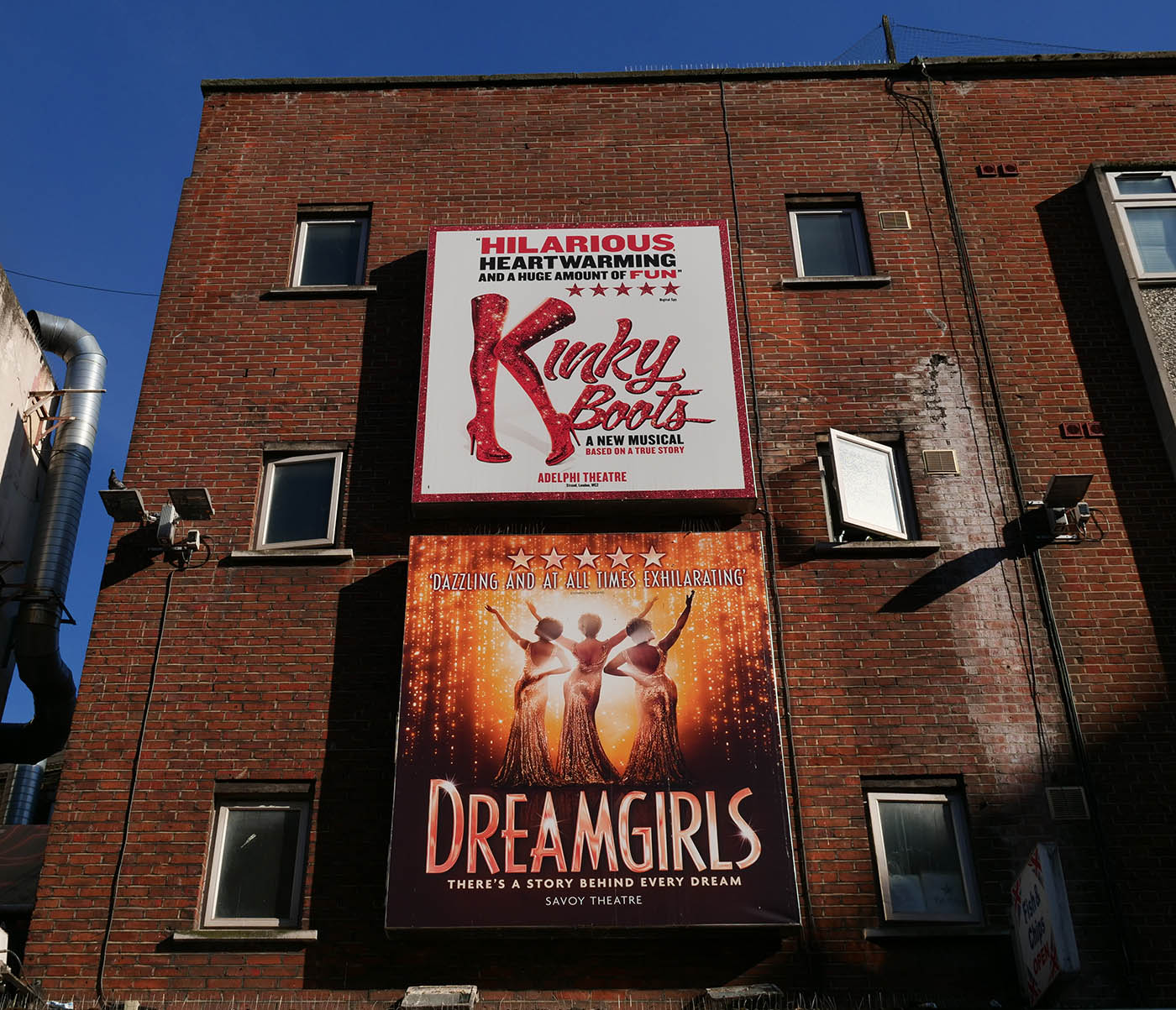 comedie musicale londre kinky boots