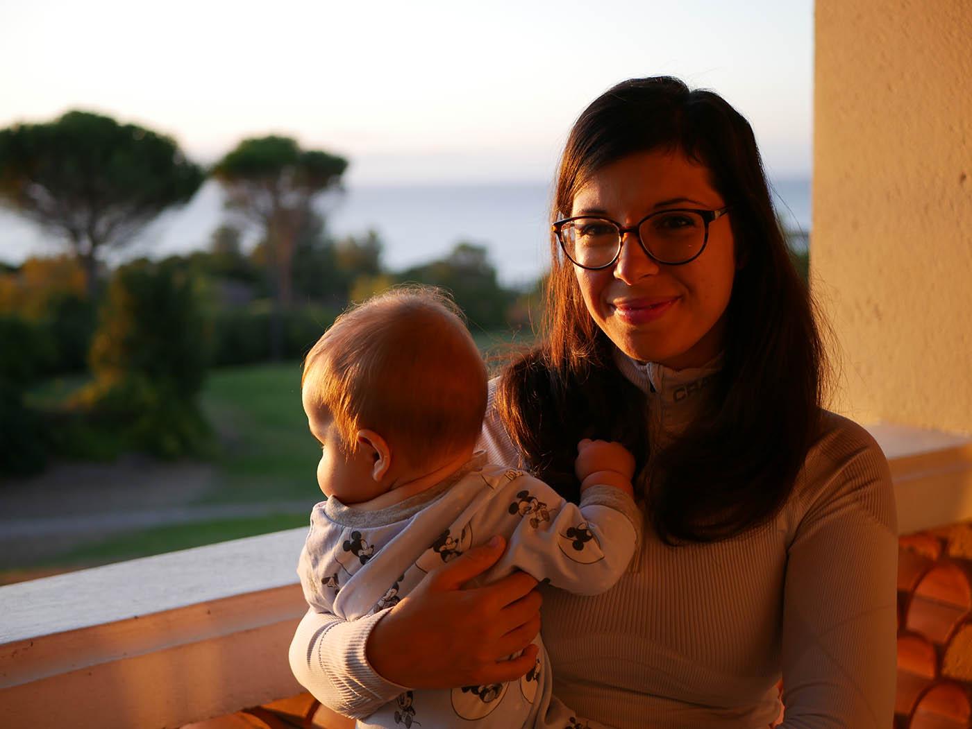 voyager avec un bébé 7 mois