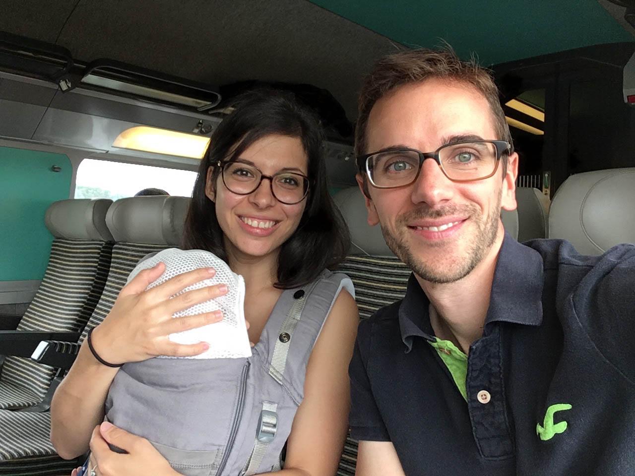 voyager avec un bébé 6 mois en train