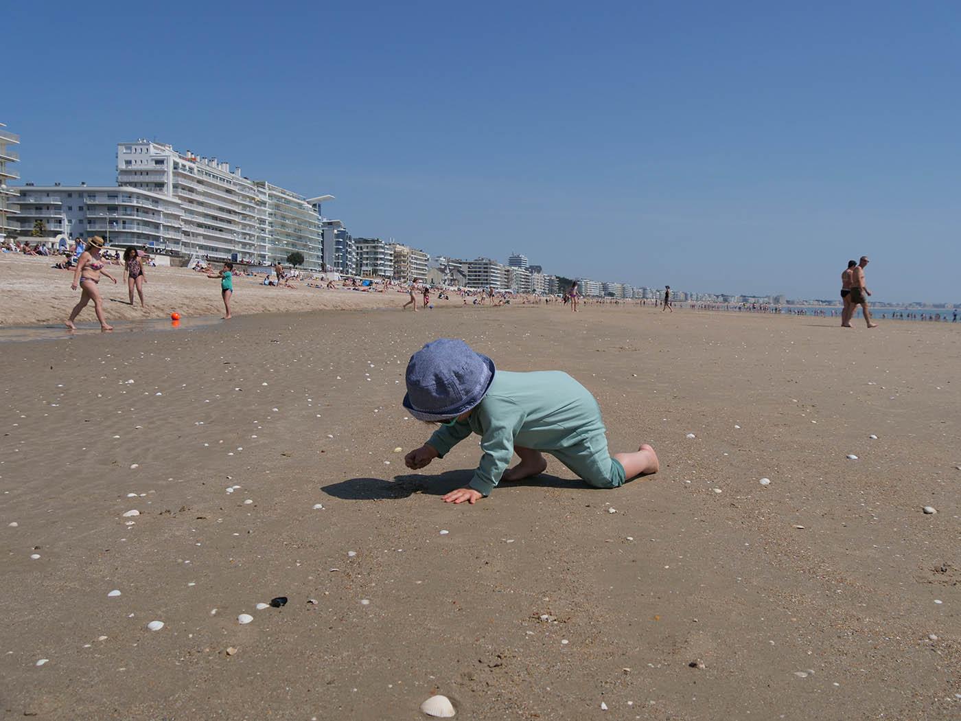 vacances à la mer avec bébé 14 mois