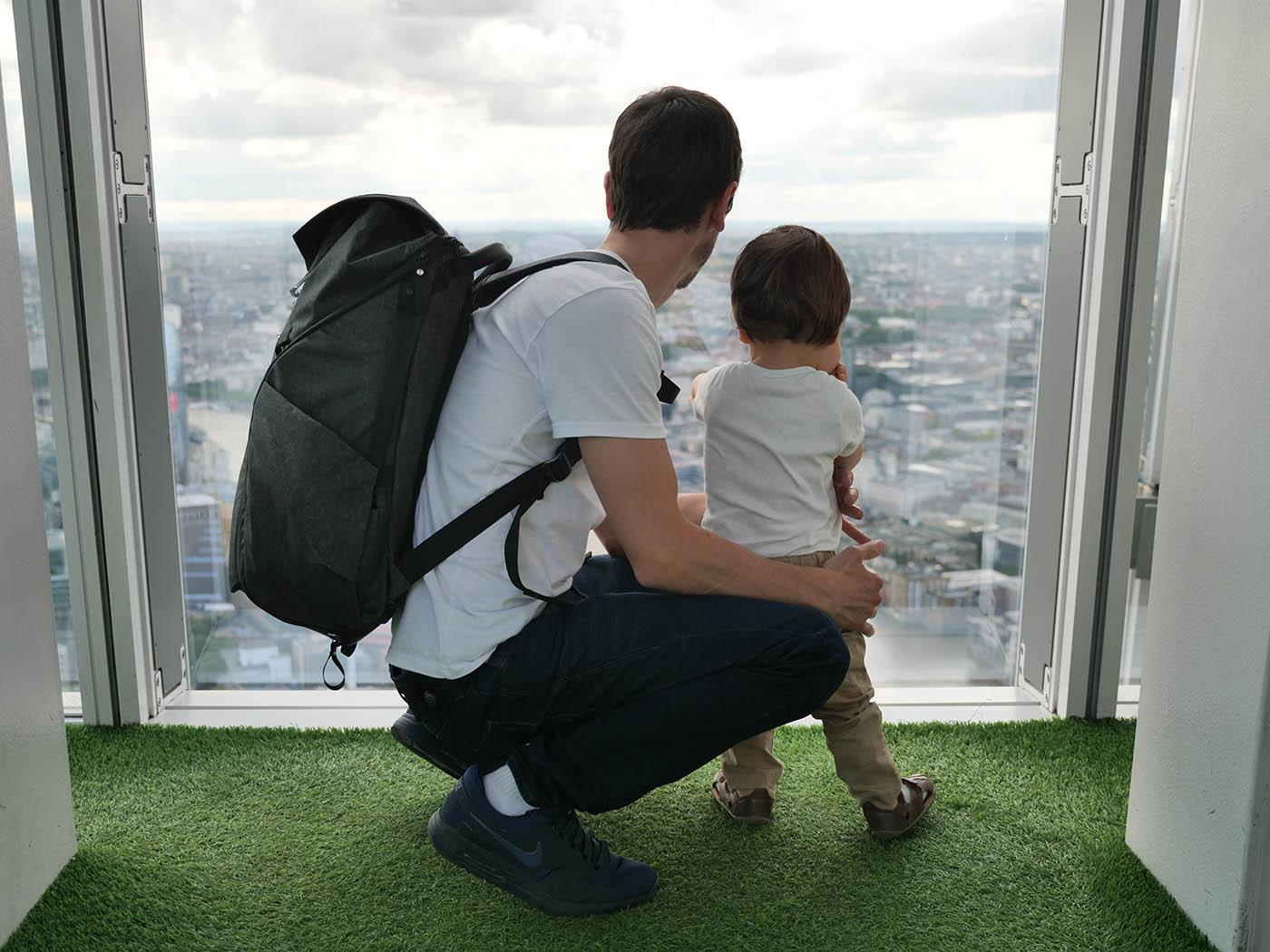 voyager avec un bébé 16 mois