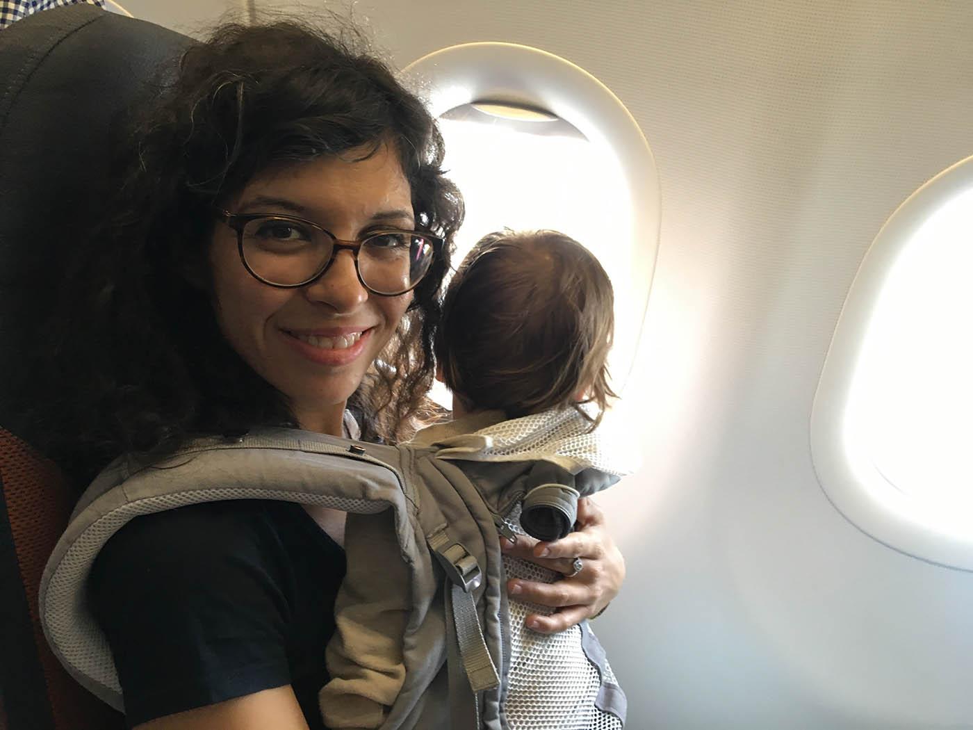 voyager avec un bébé 16 mois en avion