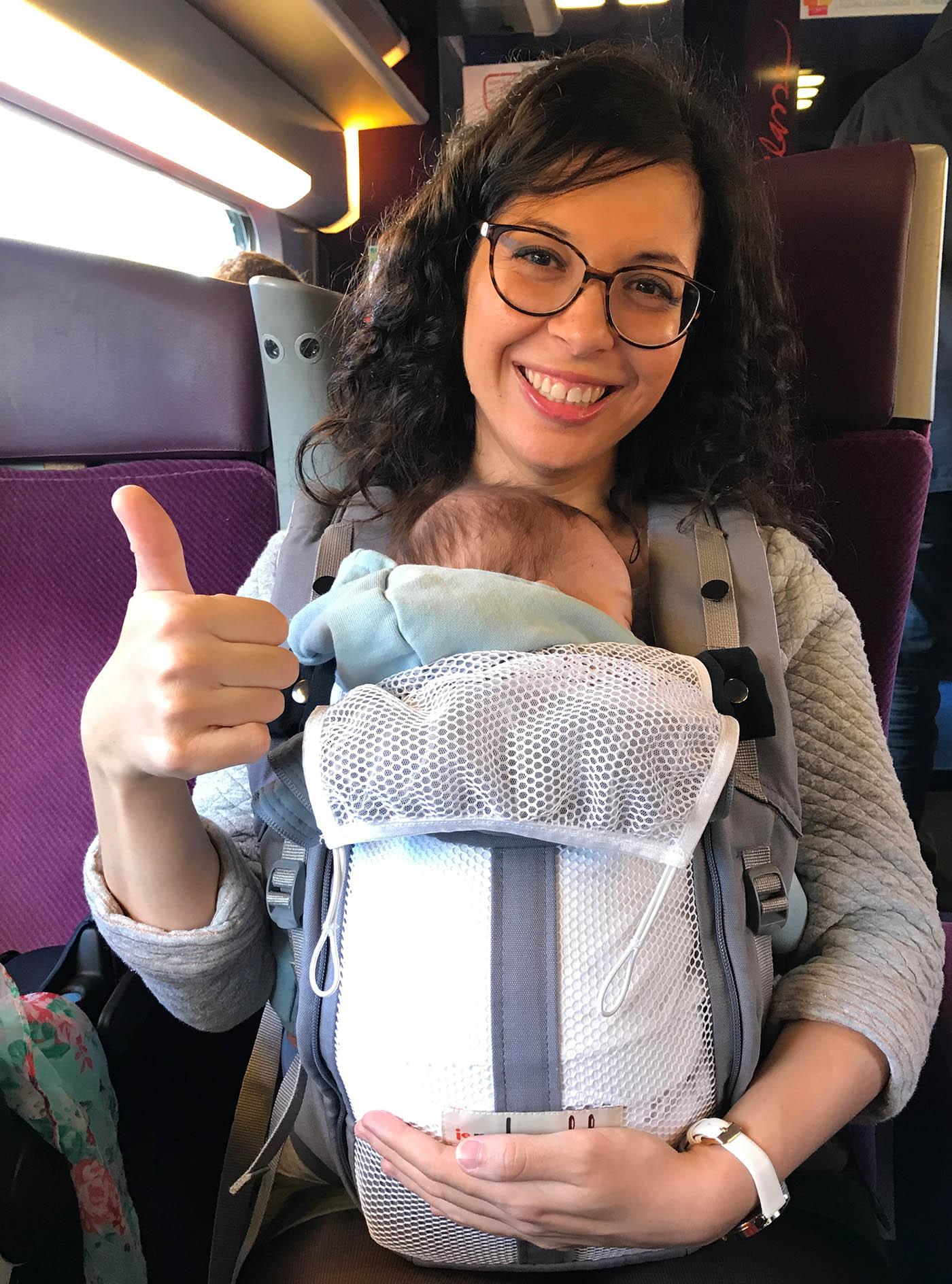 voyager avec un nourrisson