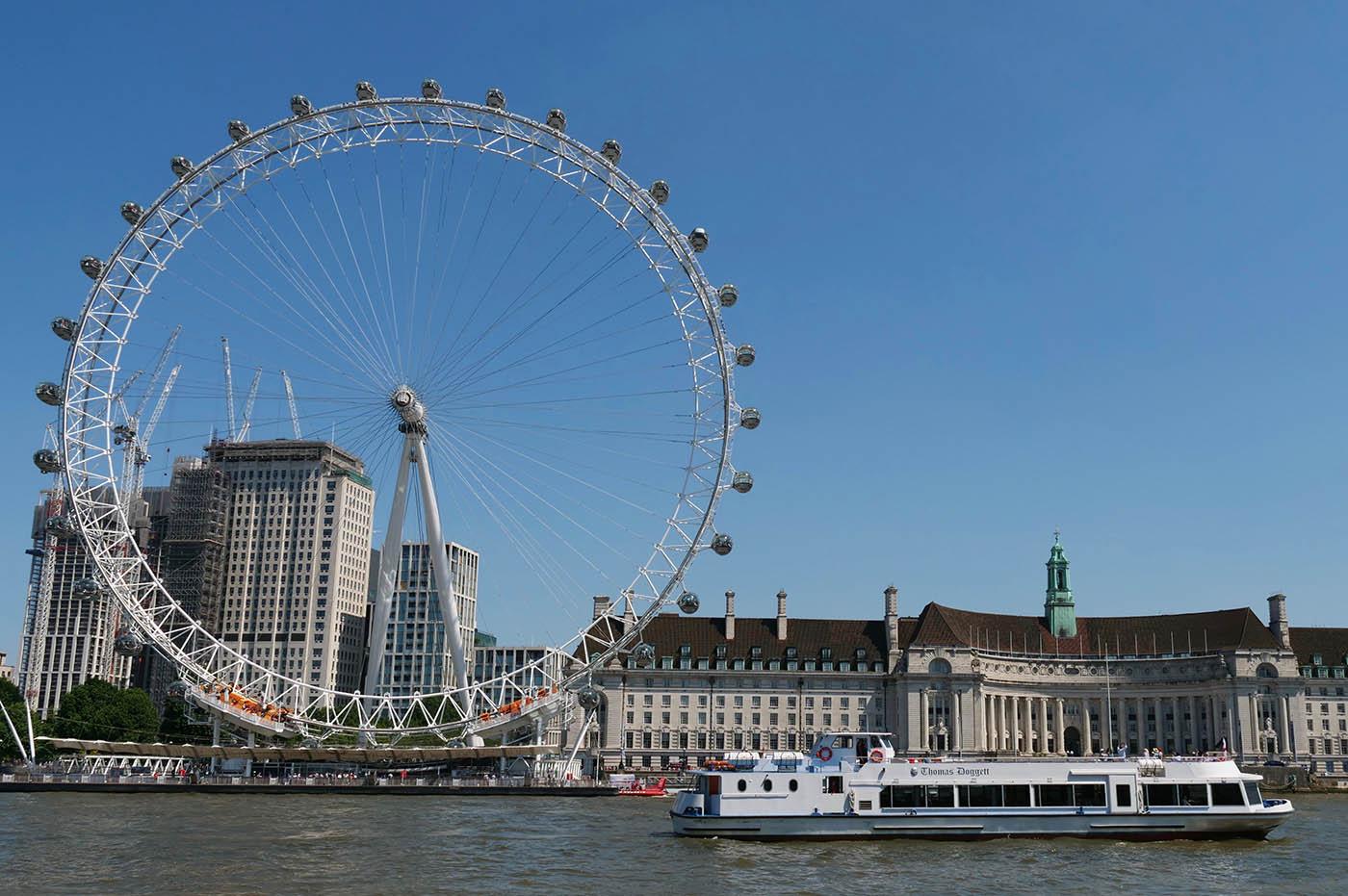 Grande Roue Londres et Croisière