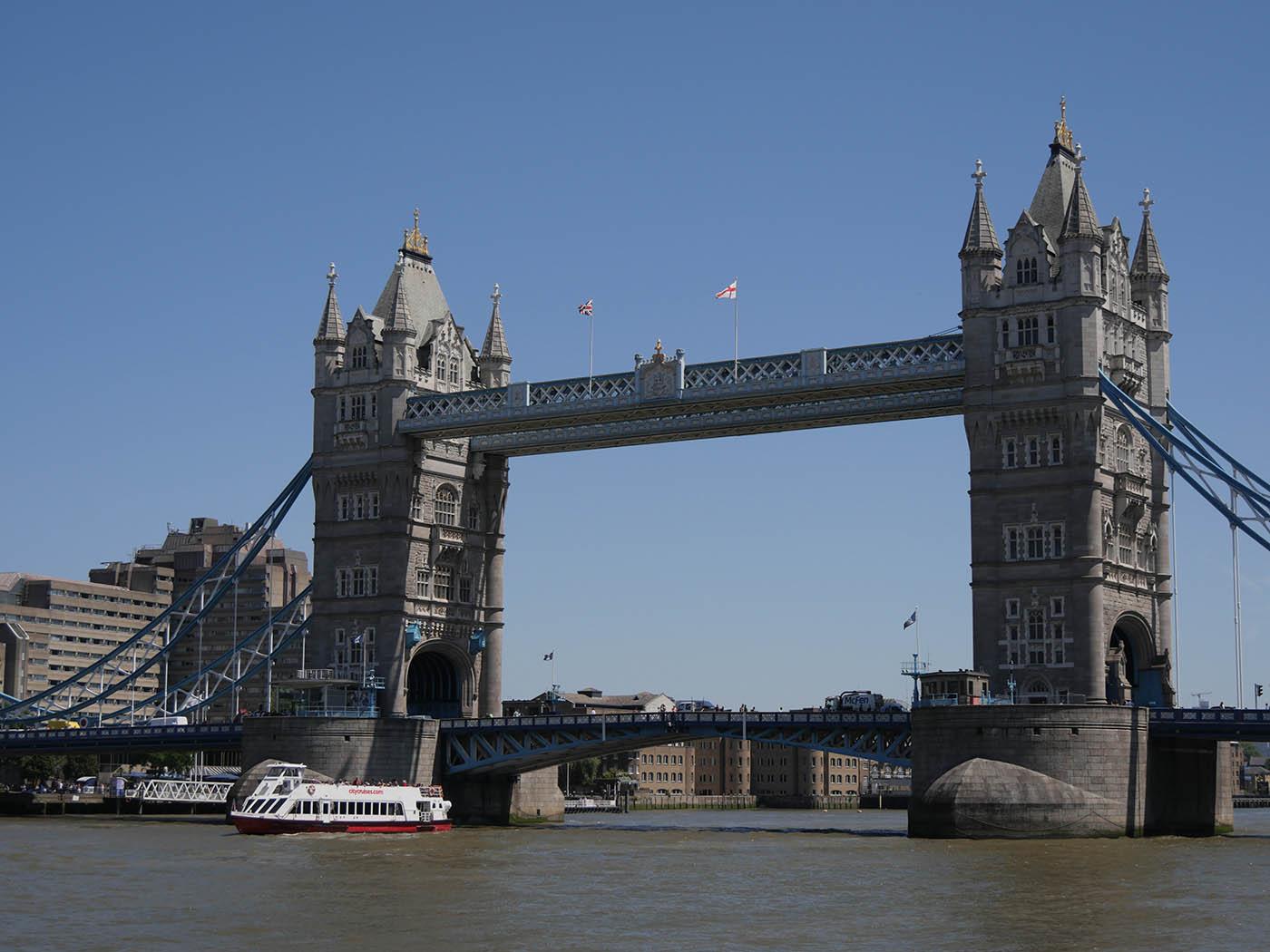 Billet Tower Bridge + croisière sur la Tamise