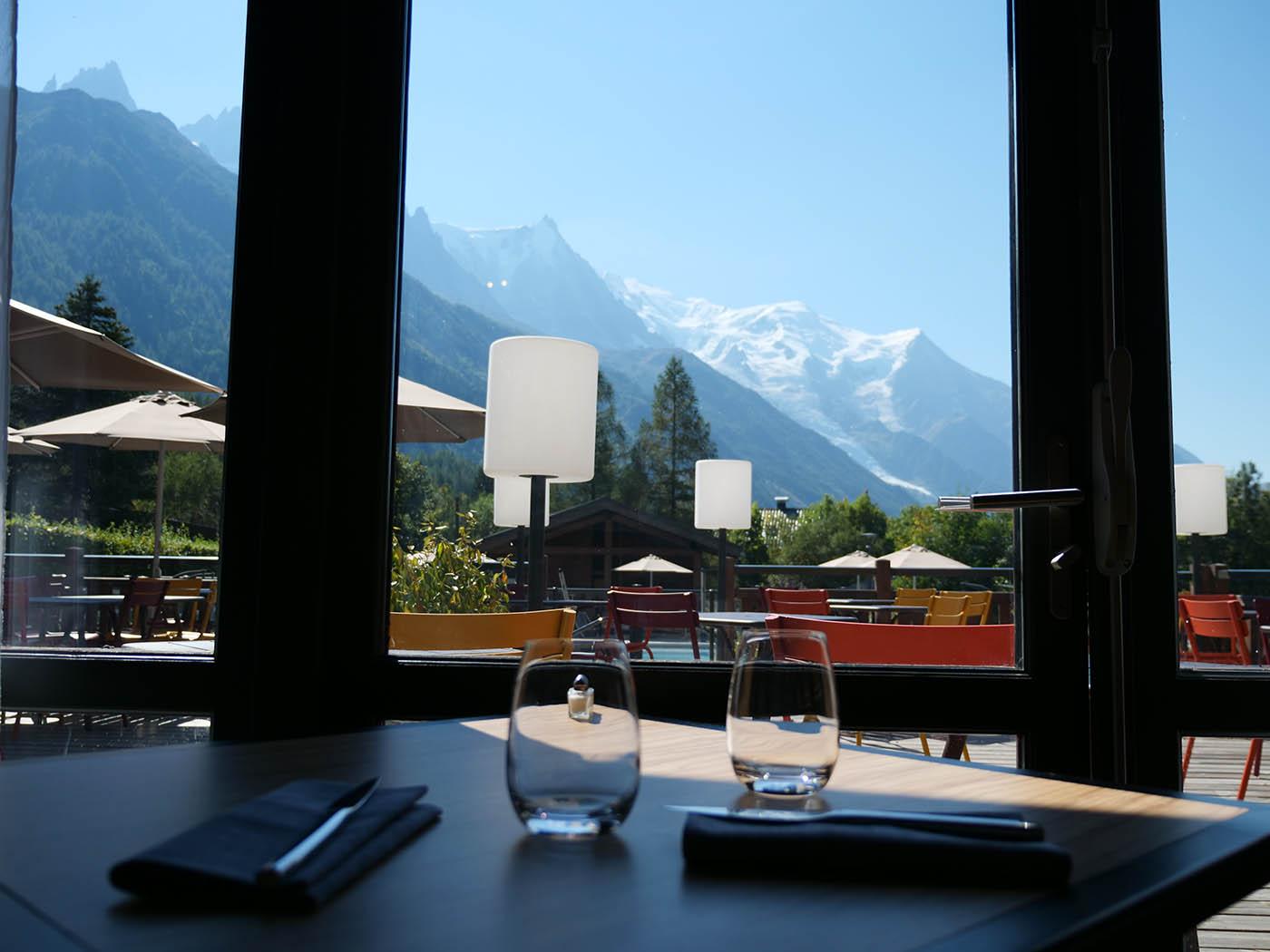 Hotel Chamonix best western restaurant