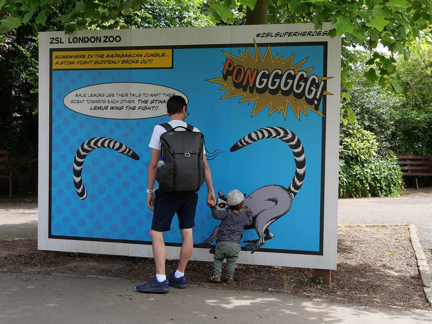 Une journée au London Zoo