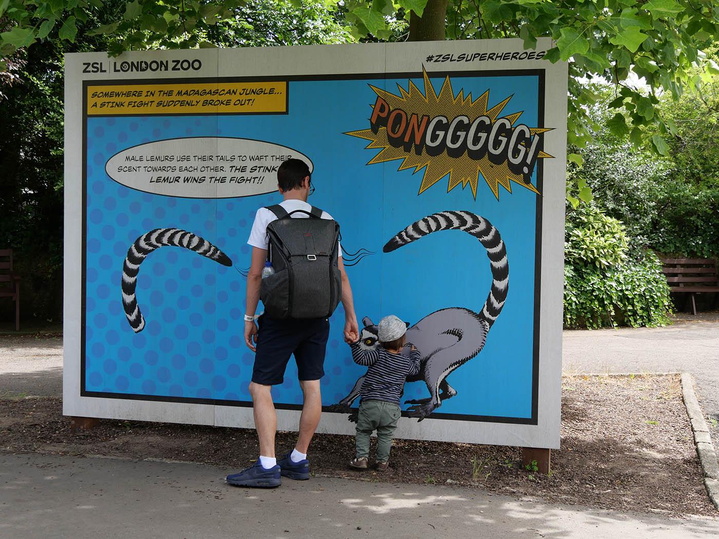 Une journée au London Zoo