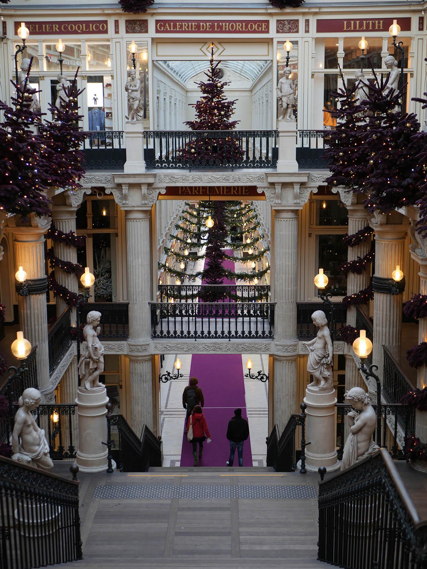 passage Pommeraye à Noël